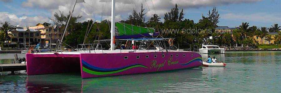 catamaran royal cruise ilot gabriel grand baie ile maurice